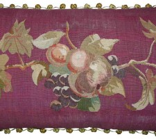 1419P  A  18TH  CENTURY  FRENCH TAPESTRY  PILLOW 23 X 14