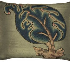 1480P  A  17TH  CENTURY  CREWEL WORK ENGLISH  PILLOW  24 X 19