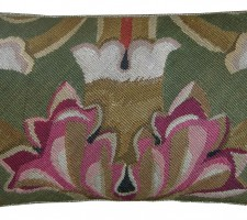 1614P  Ca.1860  A FRENCH AUBUSSON PILLOW  21 X 13