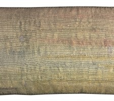 1660P  A 17TH CENTURY  BRUSSELS TAPESTRY PILLOW 21 X 10