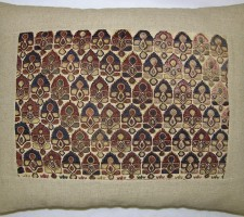 1682P  Ca.1820  ANTIQUE UZBAK PILLOW 18 X 14