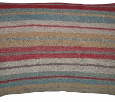 1689P   Ca.1920  ANTIQUE KILIM PILLOW  21 X 15