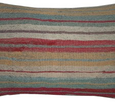 1690P   Ca.1920  ANTIQUE KILIM PILLOW  21 X 15
