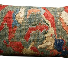 1691P   17TH CENTURY  ANTIQUE TURKISH PILLOW  25 X 15