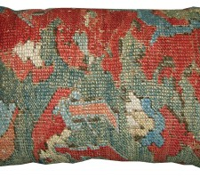 1692P   17TH CENTURY  ANTIQUE TURKISH PILLOW  25 X 15