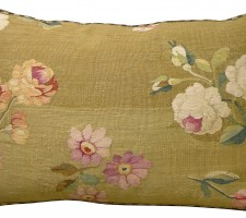 1706P  Ca.1860  A  FRENCH  AUBUSSON  PILLOW  23 X 15
