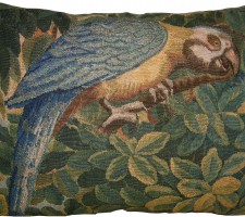 1716P   17TH CENTURY  A BRUSSELS BAROQUE TAPESTRY  PILLOW  25 X 20