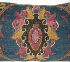 1774P   Ca.1880  ANTIQUE  AMRITZAR  PILLOW  26 X 18