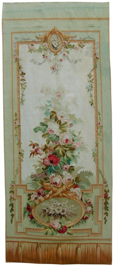 5772Y FRENCH AUBUSSON TAPESTRY