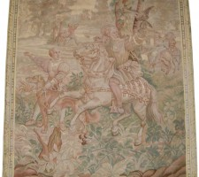 5785Y SILK AUBUSSON TAPESTRY