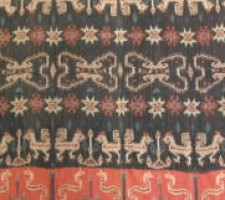 5793Y  IKAT  TAPESTRY