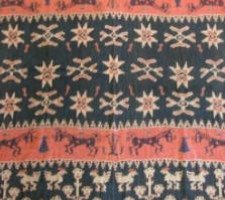 5795Y  IKAT  TAPESTRY