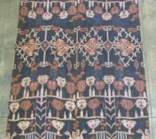 5806Y  IKAT  TAPESTRY
