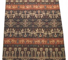5834Y  IKAT TAPESTRY