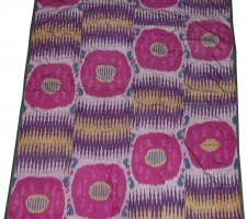 F-103  ANTIQUE SILK IKAT  4.11 X 6.5